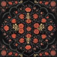 Luxebehang Hindu bloom Anthracite