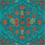 Luxebehang Hindu bloom Topaz