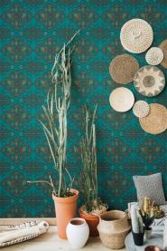 Premium wallpaper Hindu Bloom Topaz