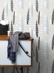 LAVMI wallpaper Tenura grey