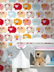 papier peint pour enfants mouton