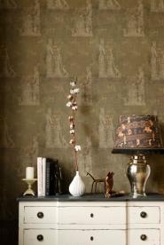 Luxebehang Sculptural moss