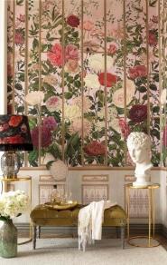 Papier peint de luxe Imperial Flora