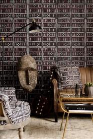 Premium wallpaper Bogolanfini