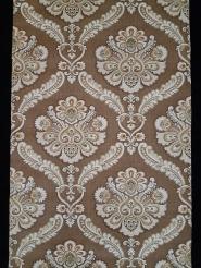 Papier peint vintage damassé brun