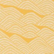 Miss Print wallpaper Frontier yellow