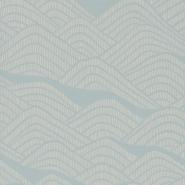 Miss Print wallpaper Frontier blue