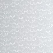 Miss Print behang Saplings lichtgrijs