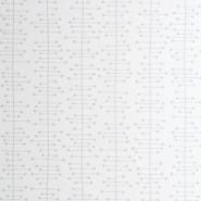 Miss Print wallpaper Muscat grey on white