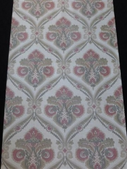 red brown grey damask wallpaper