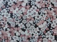 roze en witte bloemen behangpapier