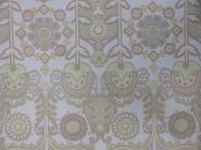 pastel retro bloemen behangpapier