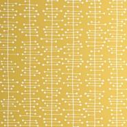 Miss Print wallpaper Muscat yellow