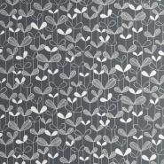 Miss Print behang Saplings zwart