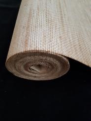 Vintage textile wallpaper beige
