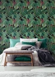 Papier peint de luxe plantes tropicales