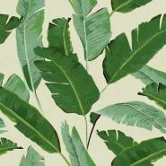 Bananenbladeren behangpapier