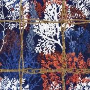 Papier peint de luxe Corallia foncé