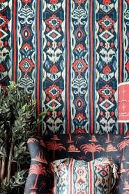 Papier peint de luxe Mediterraneo Indigo