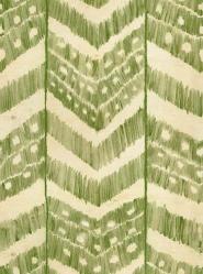 Papier peint de luxe Ikat vert