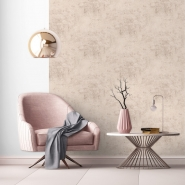 Pink concrete imitation wallpaper