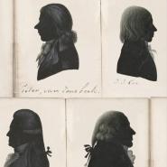Luxebehang oude portretten