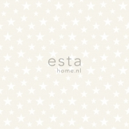 ESTA wallpapar little stars white pearl