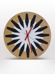 Clock Flash black & white