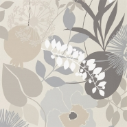 Harlequin wallpaper Doyenne grey-beige
