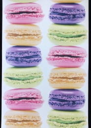 macarons behang