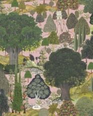 Luxebehang Jardin Sauvage