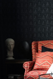 Premium wallpaper Emperors Anthracite