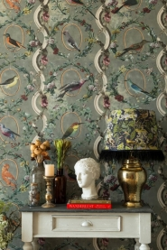Premium wallpaper Countesse's Aviarium neutral