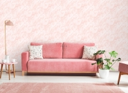 Papier peint art deco marbre rose