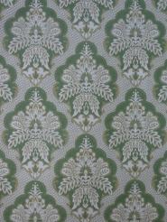 green damask vintage wallpaper