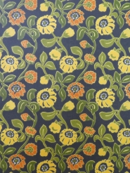 vintage brown yellow orange wallpaper