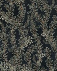 Premium wallpaper Dark leaves