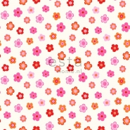 ESTA wallpapar little flowers pink orange