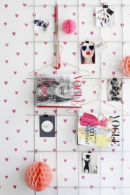 ESTA wallpaper pink hearts