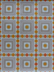 orange brown geometric wallpaper