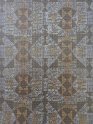 brown geometric vintage wallpaper