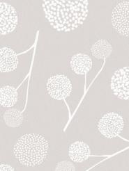 LAVMI wallpaper Plane tree taupe