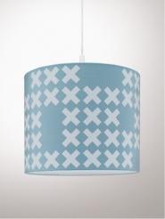 System lamp blauw
