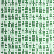 Miss Print wallpaper Hieroglyph green