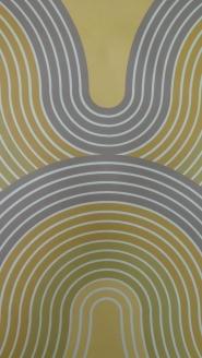 grijs groen gele Panton golven