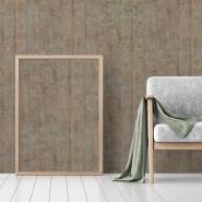 Papier peint planches de bois chêne, gris, kaki