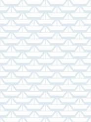 papier peint LAVMI bateaux bleu blanc