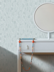 LAVMI wallpaper Drops grey