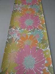 vintage floral wallpaper multicolor