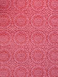 papier peint vintage figure géometrique rouge foncé